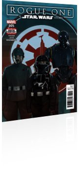 Marvel Comics: Star Wars: Rogue One - Issue # 5 Cover