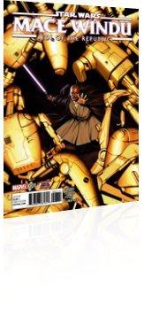 Marvel Comics: Star Wars: Jedi of the Republic - Mace Windu - Issue # 1 Cover