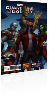 Marvel Comics: Marvel Universe: Guardians of the Galaxy - Issue # 22 Cover