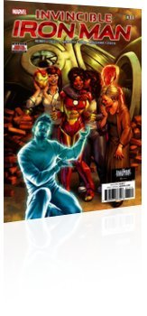 Marvel Comics: Invincible Iron Man - Issue # 11 Cover