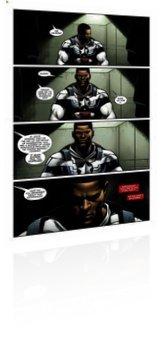 Marvel Comics: Generations: Sam Wilson Captain America & Steve Rogers Captain America - Issue # 1 Page 1