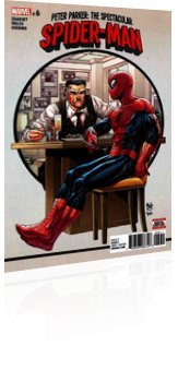 Marvel Comics: Peter Parker: Spectacular Spider-Man - Issue # 6 Cover