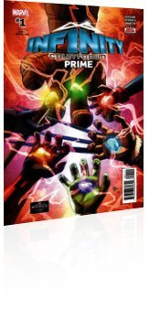 Marvel Comics: Infinity Countdown: Prime - Issue # 1 Cover