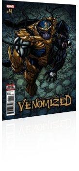 Marvel Comics: Venomized - Issue # 4 Cover