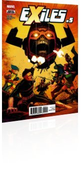 Marvel Comics: Exiles - Issue # 5 Cover