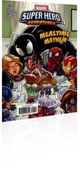 Marvel Comics: Marvel Super Hero Adventures: Captain Marvel - Mealtime Mayhem - Issue # 1 Cover