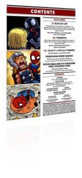 Marvel Comics: Marvel Super Hero Adventures: Captain Marvel - Mealtime Mayhem - Issue # 1 Page 1