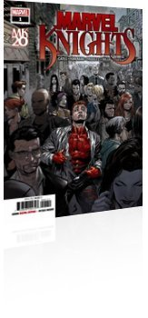 Marvel Comics: Marvel Knights - Issue # 1 Cover