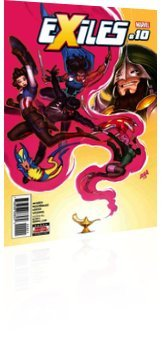 Marvel Comics: Exiles - Issue # 10 Cover