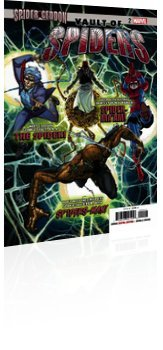 Marvel Comics: Vault of Spiders - Issue # 2 Cover