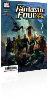 Marvel Comics: Fantastic Four - Issue # 3 Cover