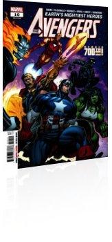 Marvel Comics: Avengers - Issue # 10 Cover
