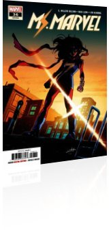 Marvel Comics: Ms. Marvel - Issue # 36 Cover