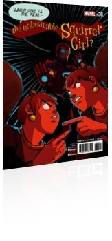 Marvel Comics: The Unbeatable Squirrel Girl - Issue # 38 Cover