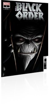 Marvel Comics: The Black Order - Issue # 1 Cover