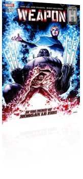 Marvel Comics: Weapon H - Issue # 10 Cover