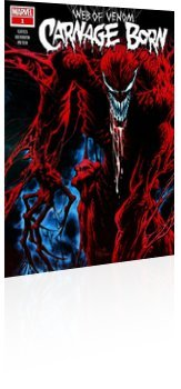 Marvel Comics: Web of Venom: Carnage Born - Issue # 1 Cover