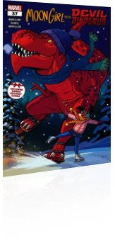 Marvel Comics: Moon Girl and Devil Dinosaur - Issue # 37 Cover
