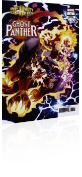 Marvel Comics: Infinity Wars: Ghost Panther - Issue # 1 Cover