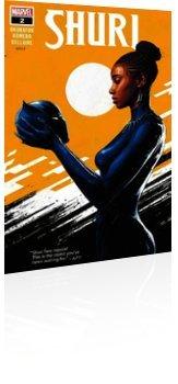 Marvel Comics: Shuri - Issue # 2 Cover