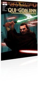 Marvel Comics: Star Wars: Age Of Republic - Qui-Gon Jinn - Issue # 1 Cover