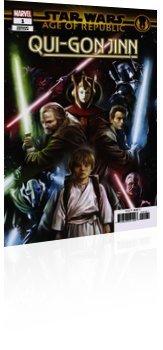 Marvel Comics: Star Wars: Age Of Republic - Qui-Gon Jinn - Issue # 1 Page 1