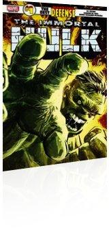 Marvel Comics: Immortal Hulk: The Best Defense - Issue # 1 Cover