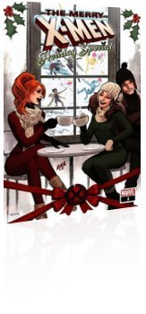 Marvel Comics: The Merry X-Men: Holiday Special - Issue # 1 Cover
