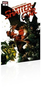 Marvel Comics: Shatterstar - Issue # 3 Cover