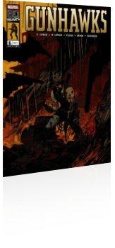 Marvel Comics: Gunhawks - Issue # 1 Cover