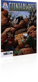 Marvel Comics: Gunhawks - Issue # 1 Page 2