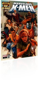 Marvel Comics: Age of X-Man: Marvelous X-Men - Issue # 1 Cover