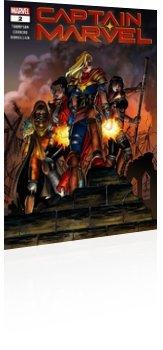 Marvel Comics: Captain Marvel - Issue # 2 Cover