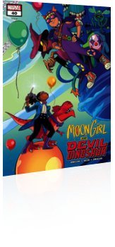 Marvel Comics: Moon Girl and Devil Dinosaur - Issue # 40 Cover