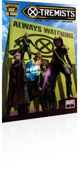 Marvel Comics: The Age of X-Man: X-Tremists - Issue # 1 Cover