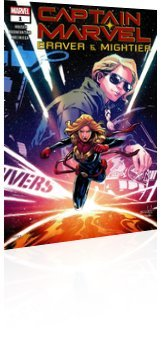 Marvel Comics: Captain Marvel: Braver & Mightier - Issue # 1 Cover