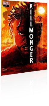 Marvel Comics: Killmonger - Issue # 5 Cover