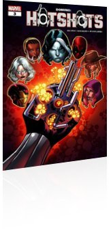 Marvel Comics: Domino: Hotshots - Issue # 3 Cover