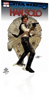 Marvel Comics: Star Wars: Age of Rebellion Han Solo - Issue # 1 Cover
