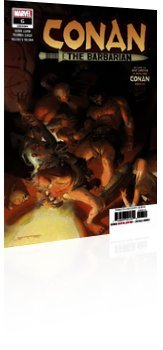 Marvel Comics: Conan the Barbarian - Issue # 6 Cover