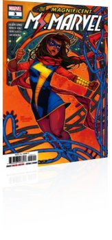 Marvel Comics: Magnificent Ms. Marvel - Issue # 3 Cover