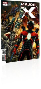 Marvel Comics: Major X - Issue # 4 Cover
