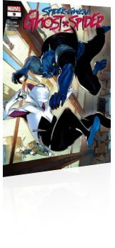 Marvel Comics: Spider-Gwen: Ghost Spider - Issue # 9 Cover