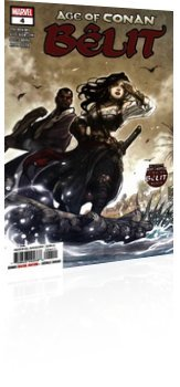 Marvel Comics: Age of Conan: Belit Queen of The Black Coast - Issue # 4 Cover