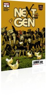 Marvel Comics: Age of X-Man: Nextgen - Issue # 5 Cover