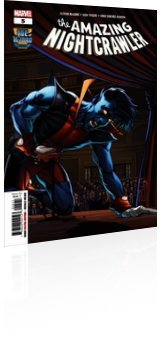 Marvel Comics: The Age of X-Man: The Amazing Nightcrawler - Issue # 5 Cover