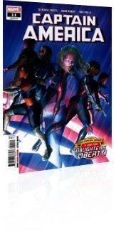 Marvel Comics: Captain America - Issue # 11 Cover