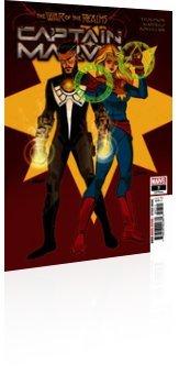 Marvel Comics: Captain Marvel - Issue # 7 Cover