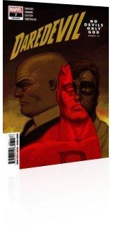 Marvel Comics: Daredevil - Issue # 7 Cover