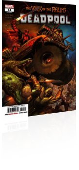 Marvel Comics: Deadpool - Issue # 14 Cover